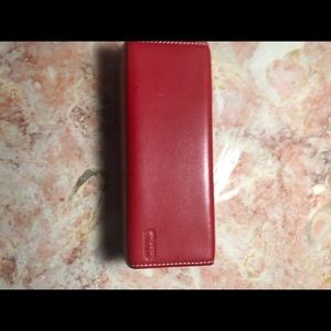 Original Coach glasses case.